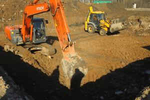 Разработка грунта механизированным способом