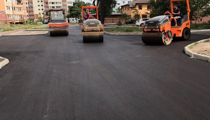 Асфальтирование дорог в Подольске