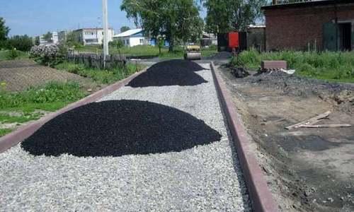 Укладка асфальтовой крошки в Одинцово